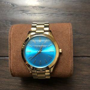 Michael Kors Blue Dial Women's Watch MK265